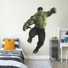 what is a wall decal the hulk avengers infinity war life size officially licensed marvel removable