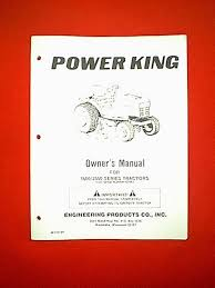 power king tractor model 1600 2400 from serial 63563 owner power king tractor model 1600 2400 from serial 63563 owner parts manual