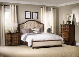wood and upholstered beds. Hooker Furniture Leesburg King Upholstered Bed With Wood Rails 5381-90966 And Beds C