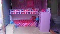 make your own barbie furniture. Make Your Own Barbie Furniture And Accessories. Bunk Beds Dresser Made With Cardboard E