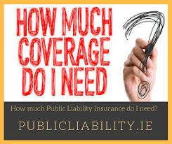 how much public liability insurance do i need