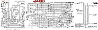1967 corvette wiring diagram tracer schematic willcox corvette 67 wire schematic for tracing wires