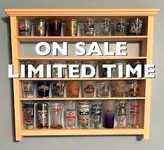 ornament display cabinet small glass curio case dark wood living room cabinets modern
