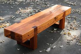 wood bench outdoor bench rustic bench