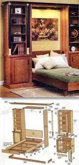 Murphy Bed Furniture Best 25 Murphy Bed Plans Ideas On Pinterest Murphy Bed Frame