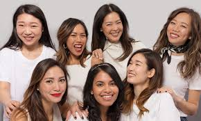 In asian women with