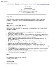 Sample Resume Objective Statement Sample resume objective statements general statement expert 10