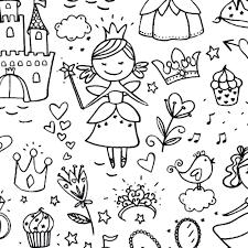 Fairy Da Colorare I Tessuti Del Riccio