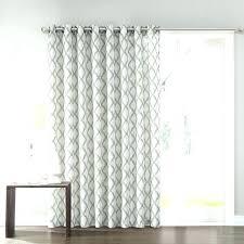 sheer door curtains patio curtain