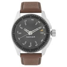 fastrack black round dial leather strap og watches for guys nk3089sl05 at best in india titan co in fastrack