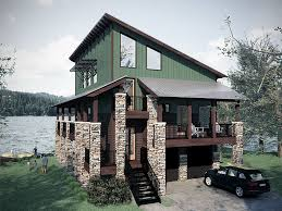 Lakefront Home Plans  LuxihomeLake Front Home Plans