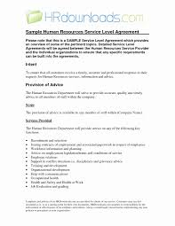 Sample Service Level Agreement Service Level Agreement Example Elegant Sample Service Level 1