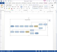 Unique Flow Chart Format In Word How To Make Flowchart In