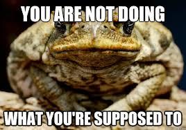 Incompetent Teacher Toad memes | quickmeme via Relatably.com