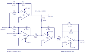 schematic peavey crossover wiring diagram for you • active crossover circuit schematic design and diagram rh circuitstoday com schematic of peavey bass guitar crossover schematic of peavey bass guitar