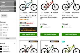 Carrera Bike Size Chart Which Halfords Mountain Bike Is Right For You Mbr