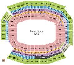 Lincoln Financial Field Seating Chart Philadelphia