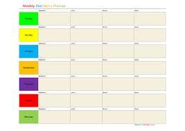 diet spreadsheet weekly meal planner spreadsheet expin zigy co