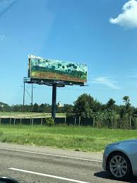 Someone Bought Ad Space On This Billboard To Put A Van Goh