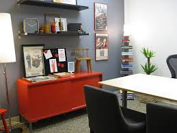 home office style. modern office style 20 colorful ways to enliven your gray home p