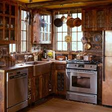 Cabin Kitchen Design Creative Awesome Inspiration Design