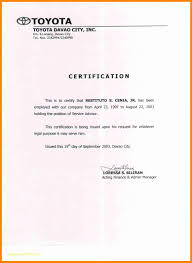 Top Result 50 Lovely Certification Of Employment Letter Template Pic
