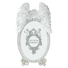angel wing photo frame silver angel wing photo frame