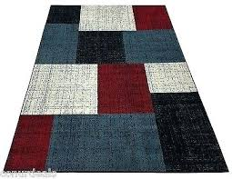 red and black zebra rug abstract contemporary white gray area modern carpet rugs blue square design