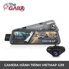 Camera Hành Trình VietMap G39 + Thẻ nhớ 32GB | Full HD 1080p, Wifi, GPS,  cảnh báo tốc độ