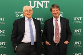 Carl Barnstein and PJ O'Rourke | Division of Student Affairs