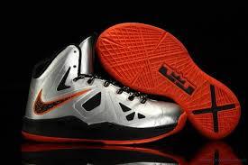lebron shoes 2017 kids. lebron x shoes kids silver black orange kem614 2017 e