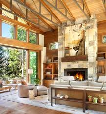 view in gallery natural stone fireplace design 1 thumb autox674 54984 striking natural stone fireplace design