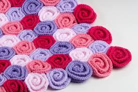 Crochet Patterns For Beginners Step By Step Beauteous Crochet Pattern Rose Field Yarn Twist