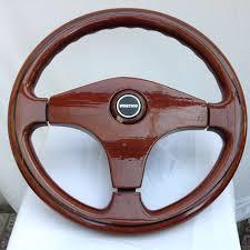 vertice wooden sports steering wheel