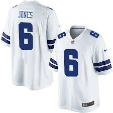 Mens Nike Dallas Cowboys 6 Chris Jones Limited White Nfl