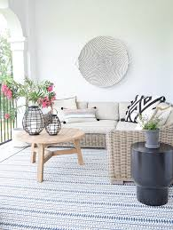 the best outdoor rugs this season modern boho outdoor living