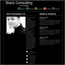 Consultancy Template Free Download Black Consulting Template Free Website Templates In Css Html Js