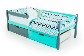 """Детская деревянная <b>кровать</b>-<b>тахта Бельмарко</b> """"<b>Skogen</b> графит ..."""