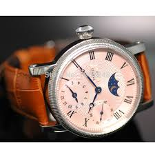 aliexpress com buy 42mm parnis pink dial gmt moon phase hand aliexpress com buy 42mm parnis pink dial gmt moon phase hand winding movement mens watch pa061 from reliable watch ball suppliers on mywatchcode store