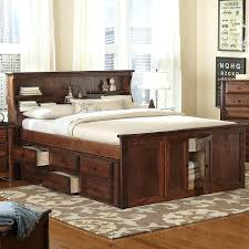 Bookcase ~ Queen Size Bed Frame With Bookcase Headboard Queen Size ...