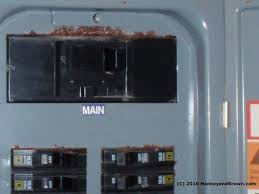 sources of moisture intrusion and corrosion in residential corrosion on electric service panel c 2010 hankeyandbrown com