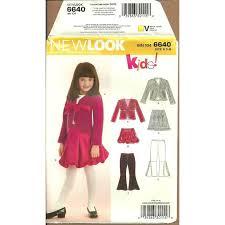 Bolero Jacket Pattern Unique New Look 48 Sewing Pattern Girls Skirt Pants Bolero Jacket Size 48