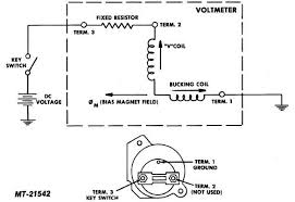 fig 25 voltmeter circuit diagram 25 voltmeter circuit diagram complete check of battery and charging system is required see appropriate alternator section of service manual under