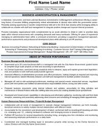 Download Business Administration Sample Resume Ajrhinestonejewelry Com