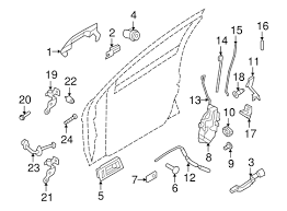 door handle parts diagram. Ford Focus Door Parts Diagram Newfangled Depiction Lh Driver Side Front Handle Base C