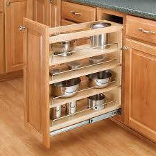 Tiered Shelves For Cabinets Rev A Shelf 3 Tier Pull Out Base Organizer 5 Wood 448 Bc 5c