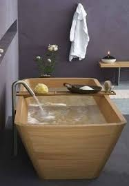 heres another in our humble opinion drop dead gorgeous timber bath tub bathroomdrop dead gorgeous tropical