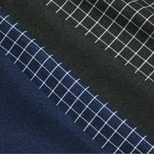 Italy Albini Cotton Software Flannel One Side Raised Plain Fabric Graph Paper Check Four Kinds C Order Cut Cloth 10cm Unit