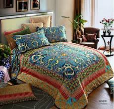 egyptian cotton vintage blue satin luxury bedding set king queen with regard to comforter sets prepare 9