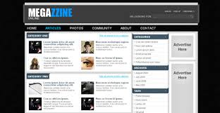Newspaper Web Template Free 30 Fresh Css Xhtml Web Templates Website Designing